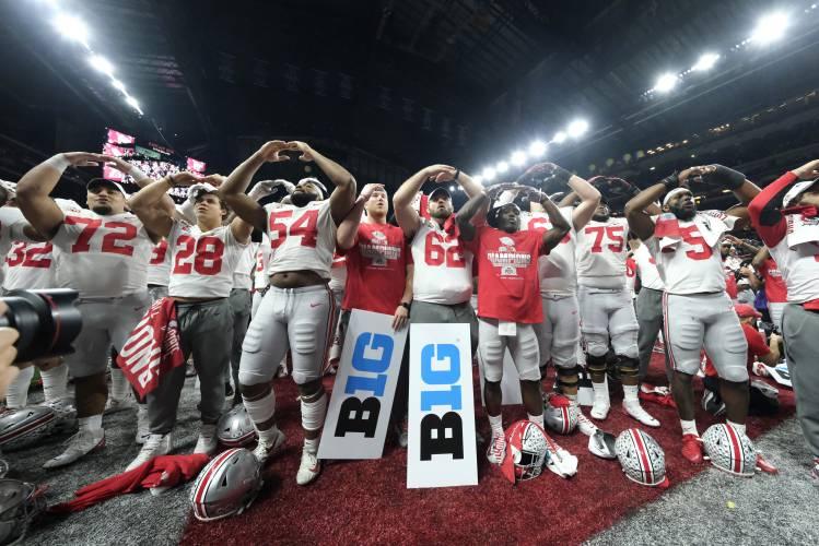 Oklahoma;  Football Ohio Playoff College vs. LSU showdowns: