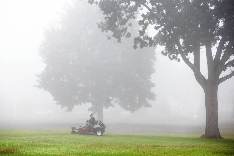 photos a foggy morning in concord