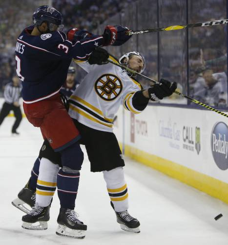 Marchand Plays Unlikely Role Of Peacemaker For Bruins In
