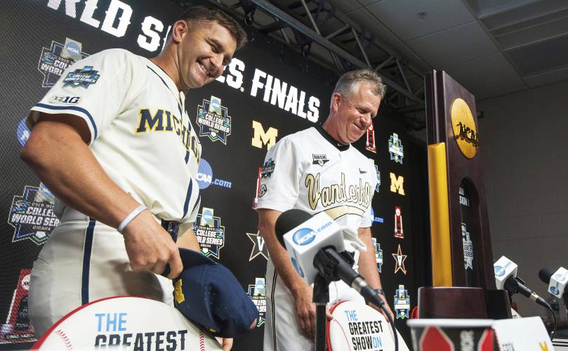 Cws Final Michigan Coach Helped Build Vandy Program Hes Out To Beat