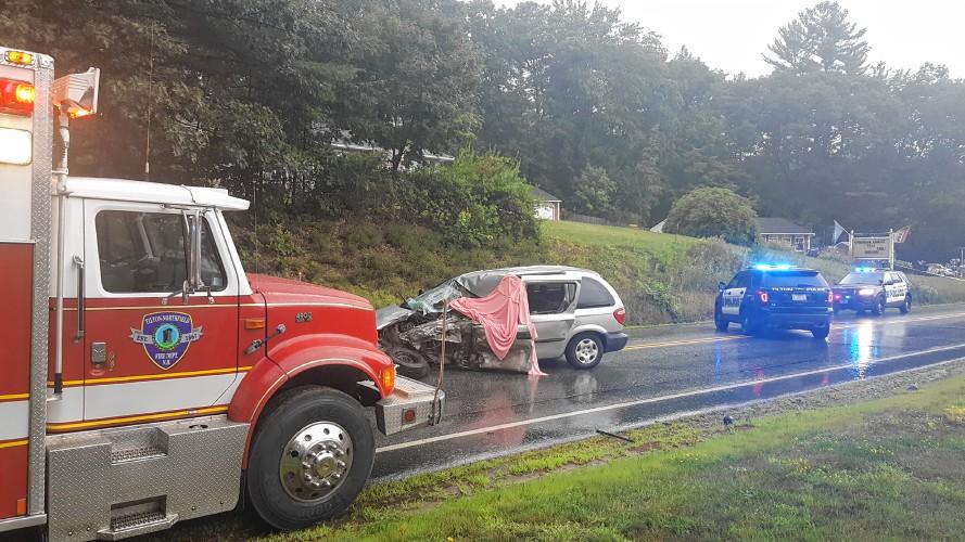 Northfield woman killed in crash on Route 3 in Tilton