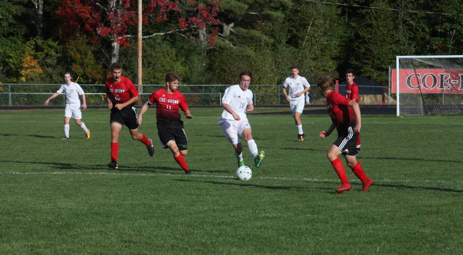 High schools: Coe-Brown boys' soccer team finds its offense