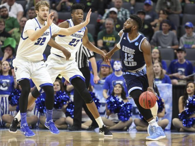 huge discount 73ace 1b326 Upstart 11th seed URI stuns No. 6 Creighton in NCAA Tournament