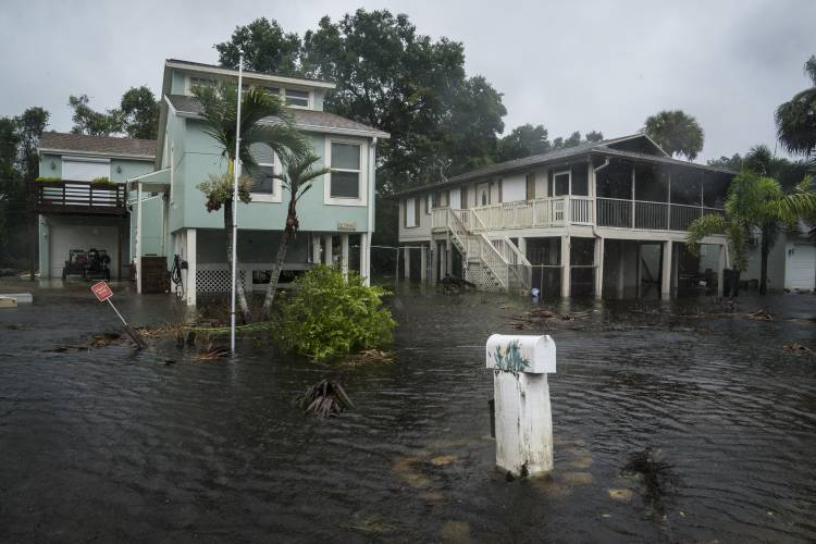 Hurricane Irma Makes Second Landfall In Florida Roars Up