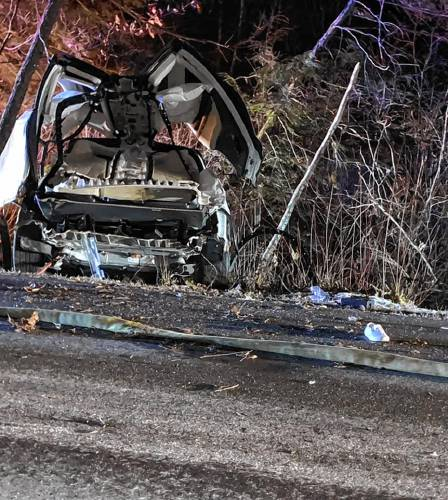 Fiery Rindge Tesla crash is N H 's first fatality involving