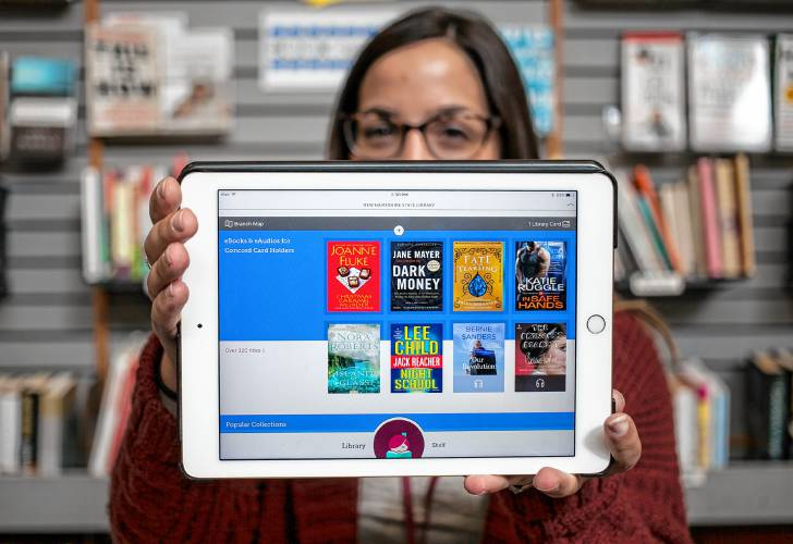 Concord library adds digital service with music, movies, graphic novels