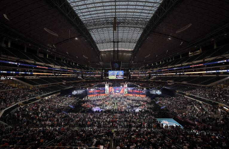 From cozy get-together to huge event, NFL draft has soared