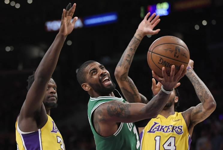 buy online bfc85 e9cd2 How Kobe Bryant helped shape the defining summer of Kyrie ...