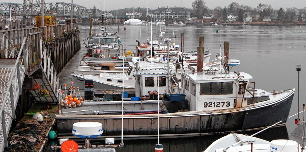 Even as N H  fishing fleet shrinks, seafood 'farm share
