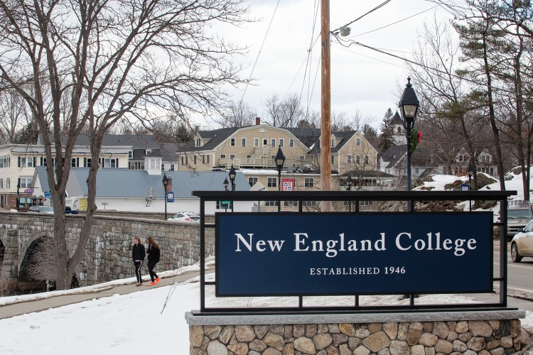 Colleges In New England >> Amid Tough Times For Small Colleges New England College