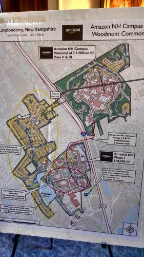 N.H. officials pitch Londonderry mixed-use site for Amazon ... on smcvt campus map, u of m campus map, ge campus map, university of houston victoria campus map, university of portland campus map, emc campus map, umass amherst campus map, university of montana campus map, nsc campus map, app state campus map, william paterson university campus map, southern nh university campus map, penn campus map, ma campus map, university of dubuque campus map, maine campus map, oxy campus map, w&m campus map, bac campus map, uh campus map,