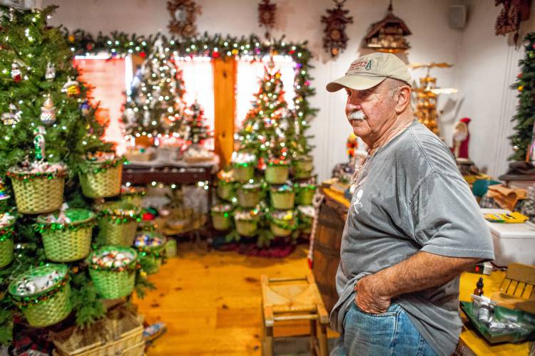 Henniker Christmas tree farm sees a new use as political