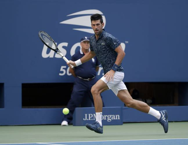 Djokovic Keys Advance After Sweltering Fourth Round At U S Open