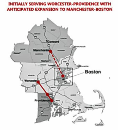 The idea of private passenger rail in N.H. is very unusual, but not ...