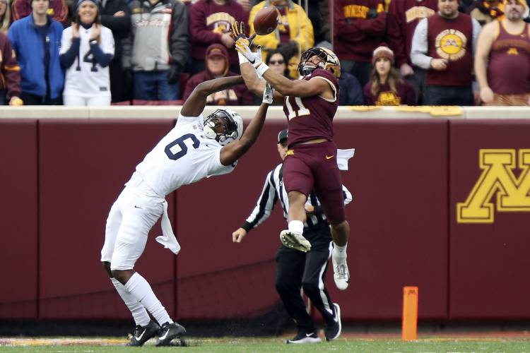 Minnesota stays unbeaten with win over No. 5 Penn State