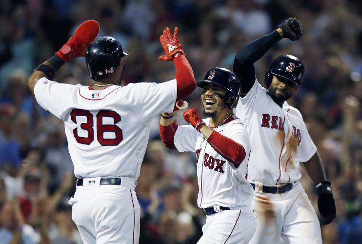 huge discount 42d7c 5e3ef McAree: Red Sox enter second half hungry for postseason success
